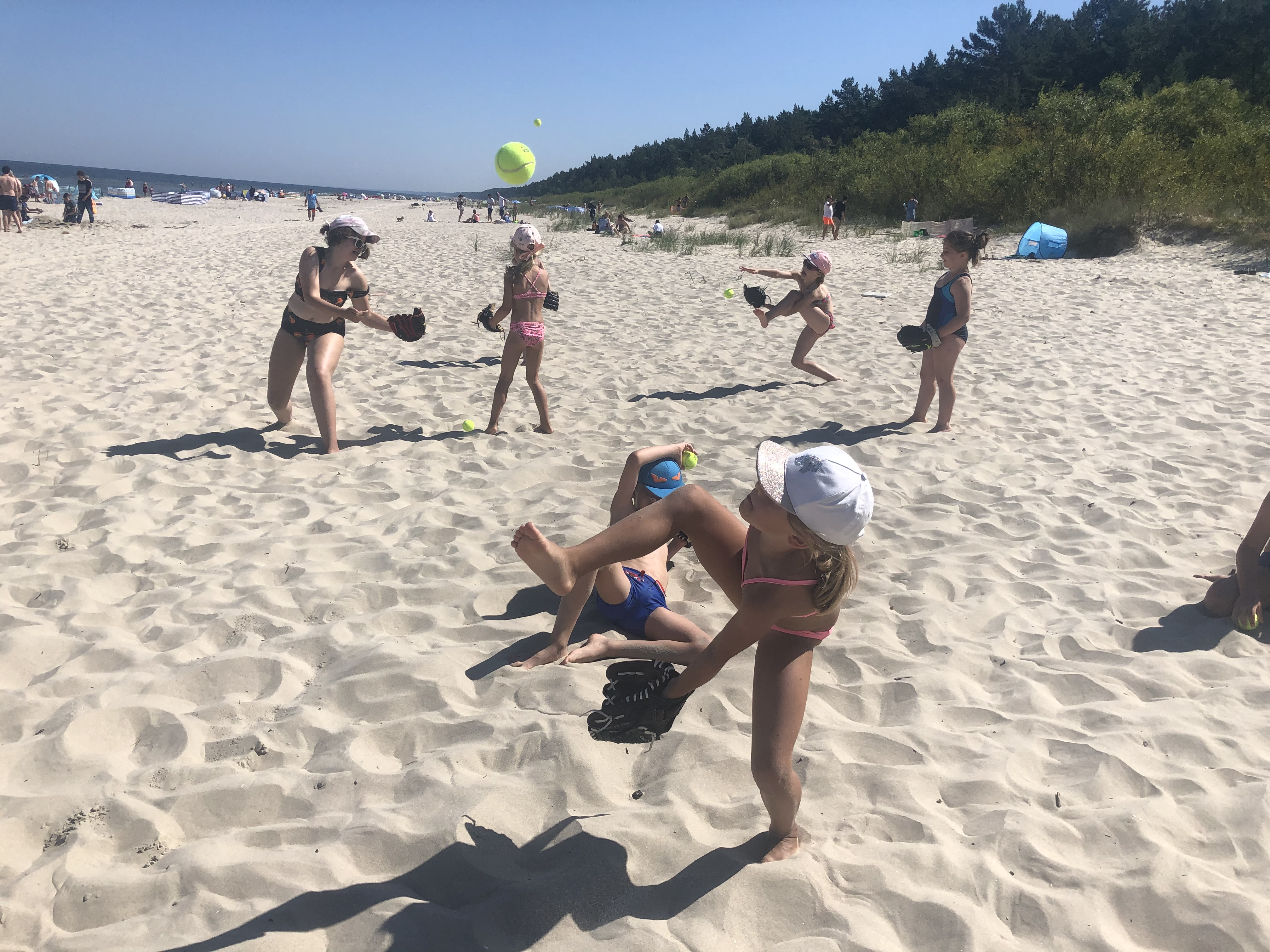 Baseball na plaży
